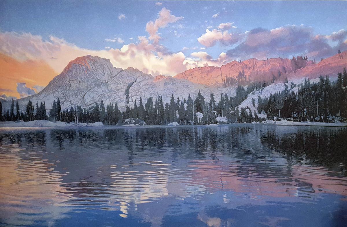 Mountain Light (Long Lake)