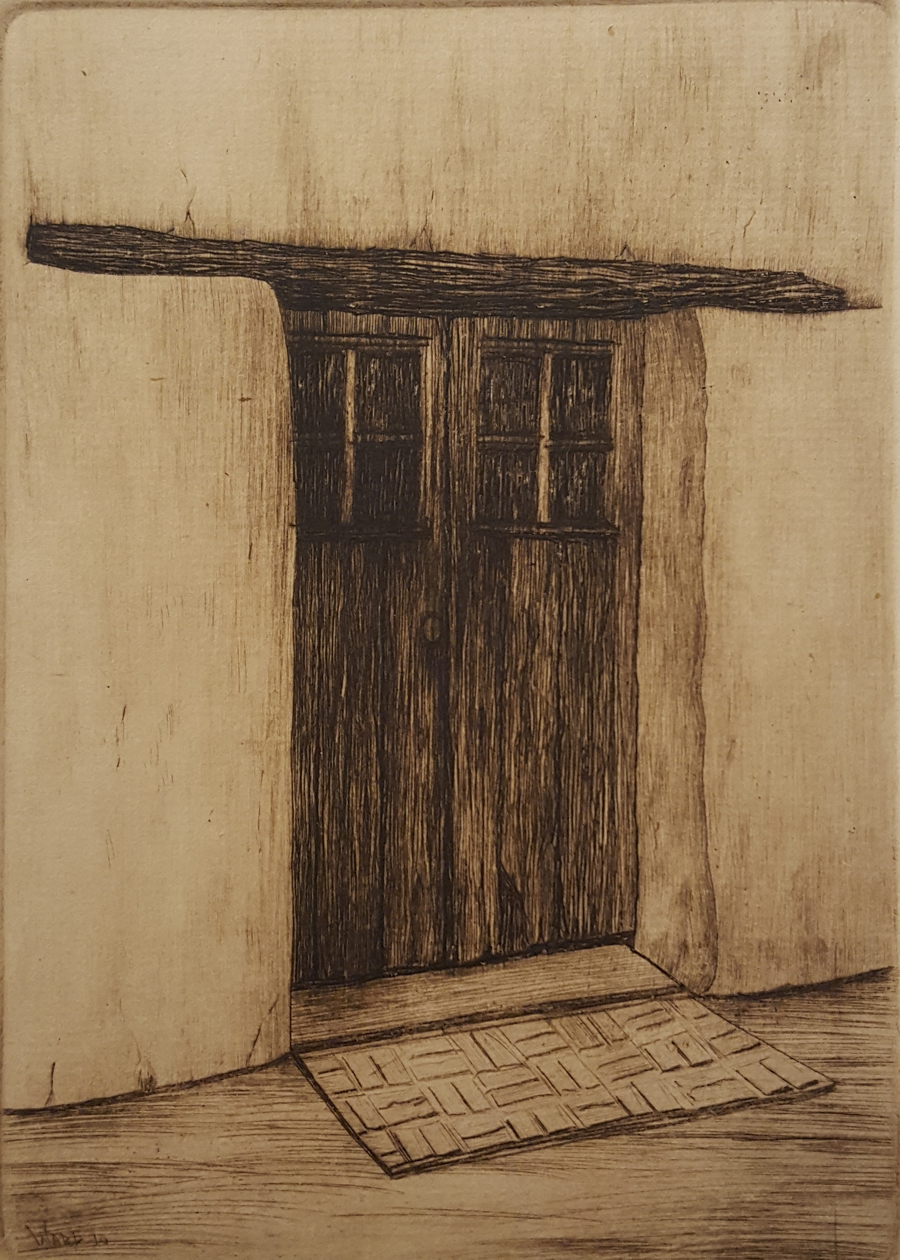 Adobe Door, Old Monterey