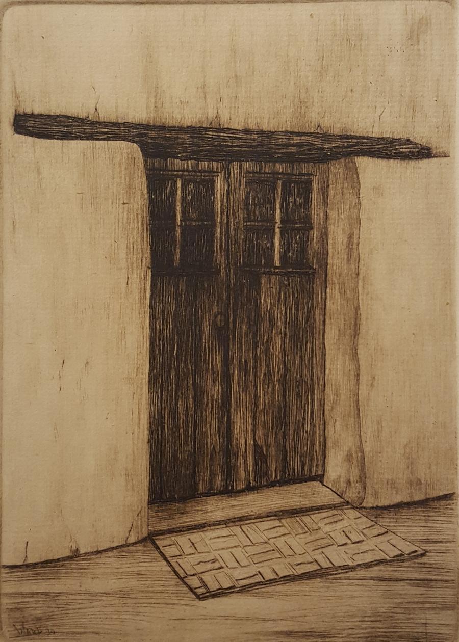 Adobe Door, Old Monterey
