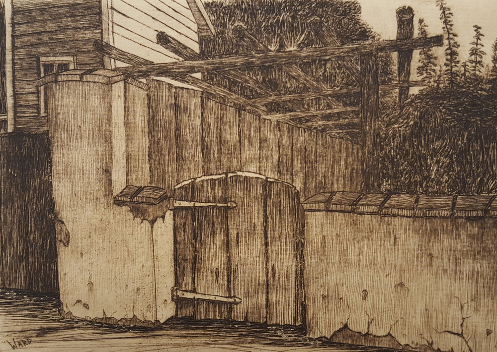 Backyard Gate - San Juan Bautista