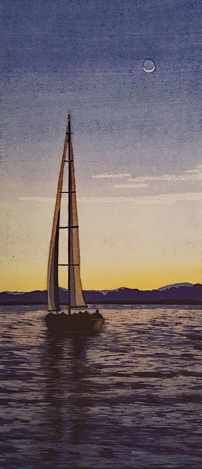 Sailing at Twilight