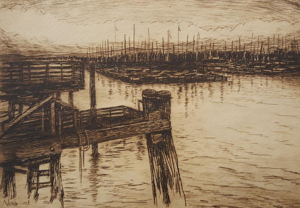 Old Pier, Monterey Wharf