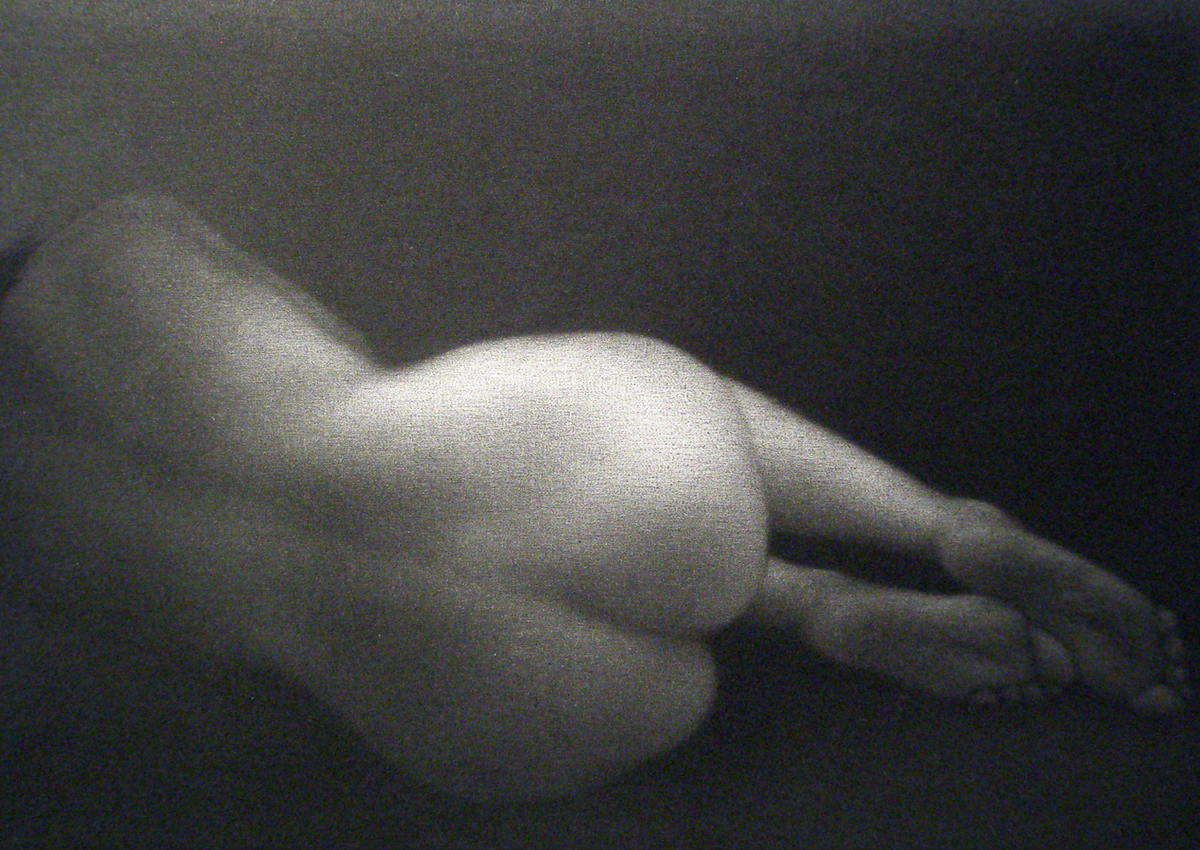 "Mezzotint Engraving 2008 Image size: 5 5/8"" x 4"" Price: $450.00"