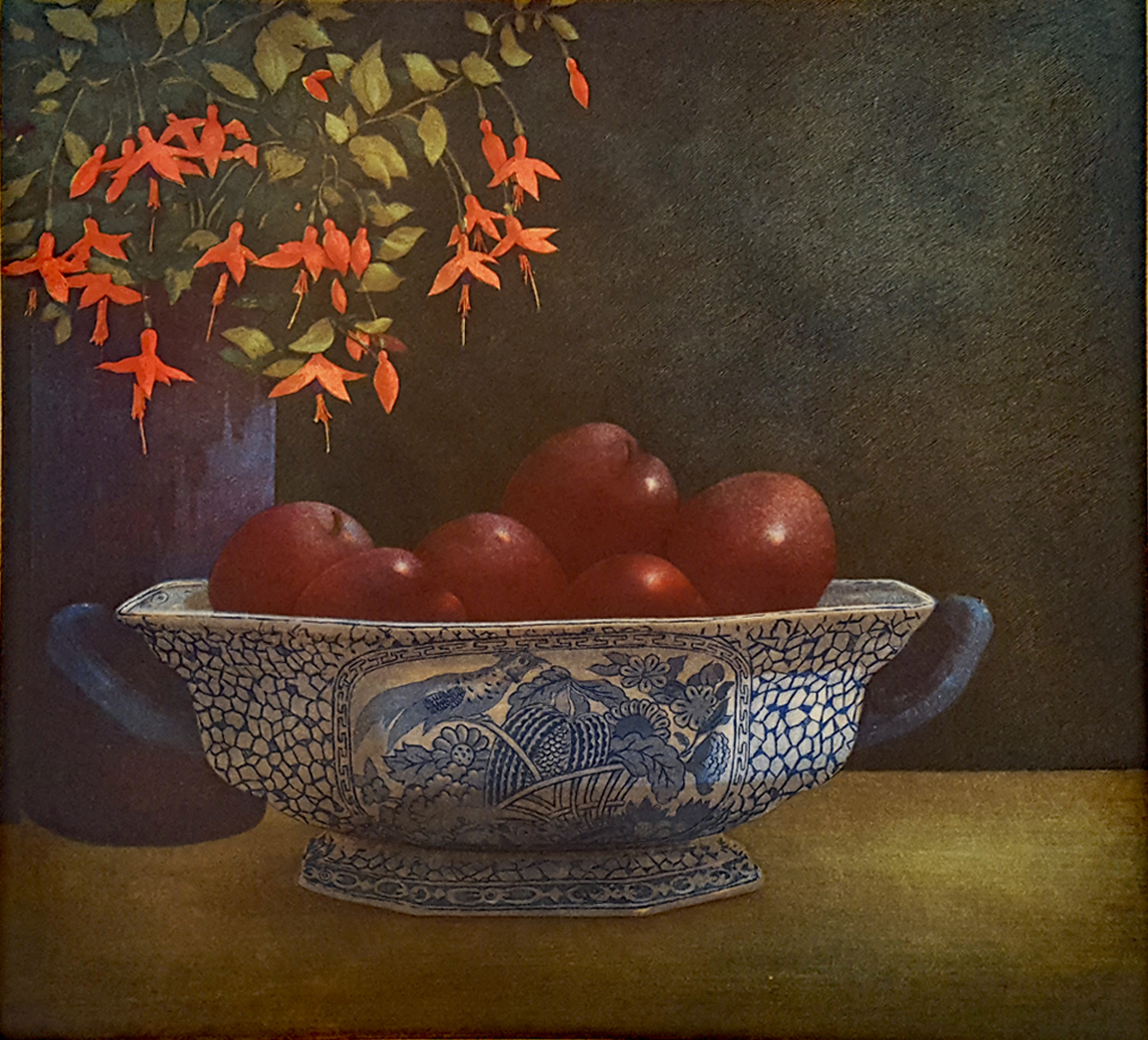 Bowl of Plums by Terrence Millington