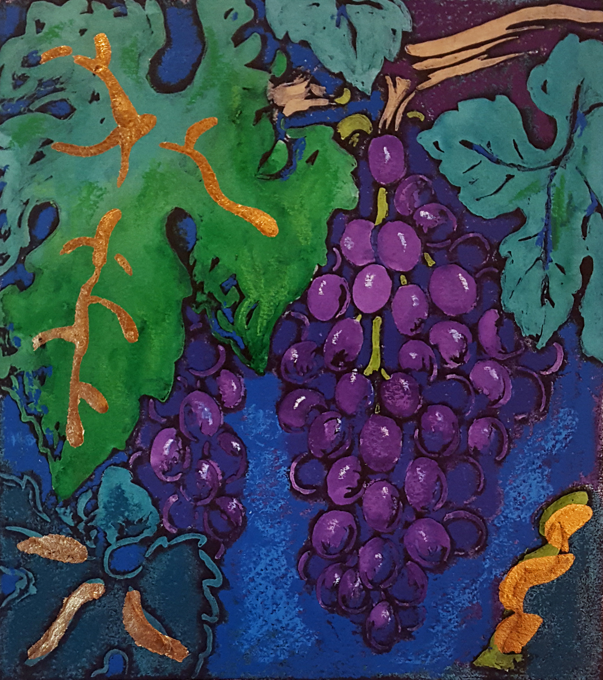 Cabernet Cluster by Stephan Whittle