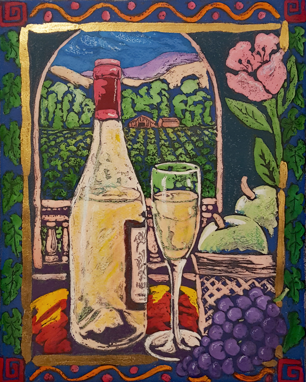 Fruit and Wine by Stephan Whittle