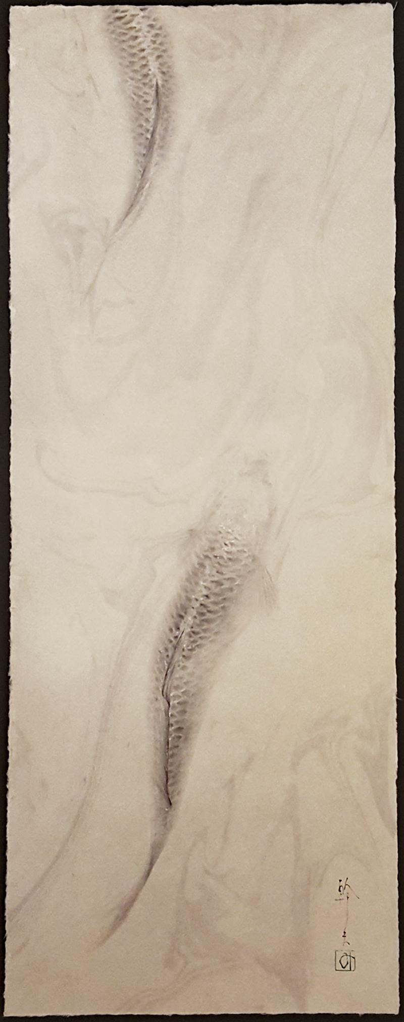 Koi I, original watercolor