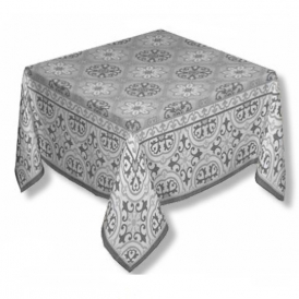 Mosaique Grey Square Tablecloth