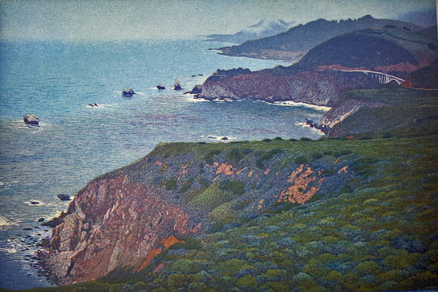 Pacific Coast Highway by Stephen McMillan