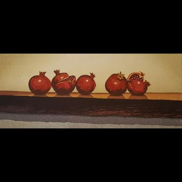 Pomegranates, Three Plus Two