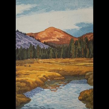 Tuolumne: Mount Dana, Autumn Light