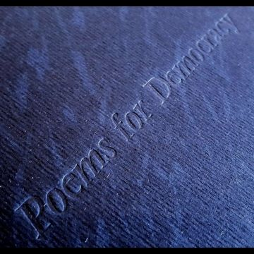 """These poems by Walt Whitman are chosen as a message to the 45th President of the U.S.A."" An edition of 30, this book contains two mezzotints by Judith Rothchild and the handset letterpress in Vendôme romain has been composed and printed by Mark Lintott who also made the slipcases. $800"