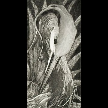 """Etching by Beki Killorin edition of 350 Image size: 3 1/2"""" x 7"""" Price: $120.00"""
