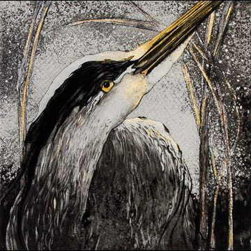 """Etching by Beki Killorin edition of 200 Image size: 7"""" x 7"""" Price: $150.00"""