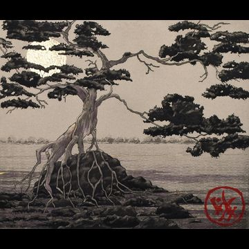 """Chine' colle' etching by Beki Killorin edition of 350 Image size: 12"""" x 9 3/4"""" Price: $250.00"""