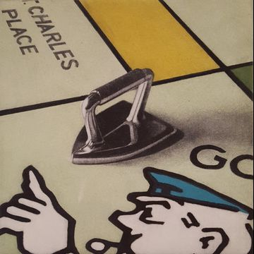 Monopoly Series II Iron