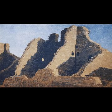 Chaco Canyon by Stephen McMillan