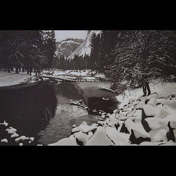 Yosemite Winter by Stephen McMillan