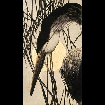 """Chine' colle' etching by Beki Killorin edition of 100 Image size: 6"""" x 10 1/2"""" Price: $200.00"""