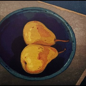 Two Pears in John's Bowl