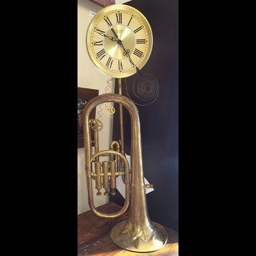 Big Horn Clock #6405