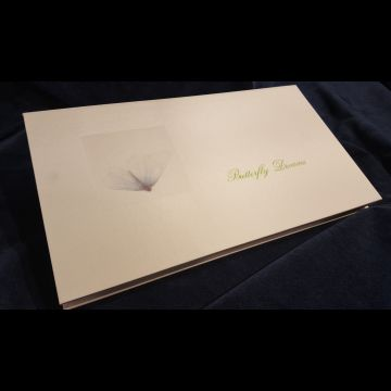 Butterfly Dreams hand-made book by Mikio Watanabe with Victor Ortiz