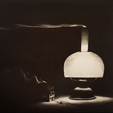 La maison sous la lampe by Pierre Vaquez