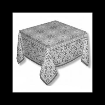 Mosaique Grey Tablecloth (seats 6) - FRANCE