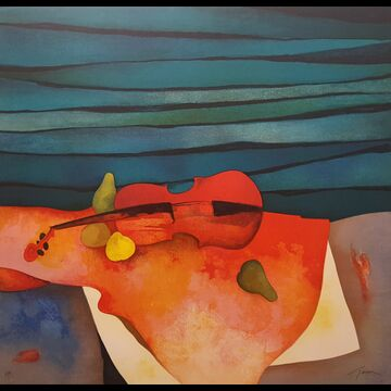 Violin Rouge by Claude Gaveau